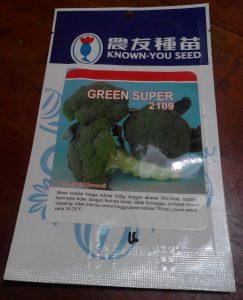 jual bibit brokoli