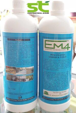 EM4 Toilet Dan Pengolahan Limbah