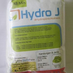 """Pupuk Nutrisi Hidroponik AB Mix Untuk TANAMAN SAYURAN / DAUN """"Hydro J 250gr"""""""