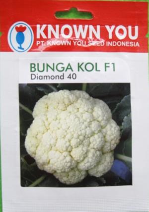 BENIH KNOWN-YOU SEED BUNGA KOL F1 DIAMOND 40