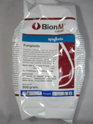 Obat Fungisida Bion M 1/48wp 500gr