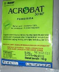 Fungisida ACROBAT 50 WP 10 gram