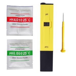 PH Meter Air - Alat Ukur Air / Hidroponik [PH-009(I)A]