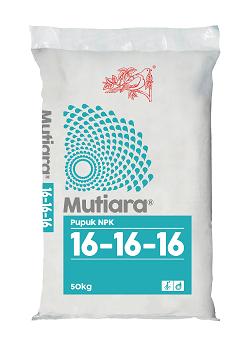 Pupuk NPK Mutiara 16-16-16 (50 kg)