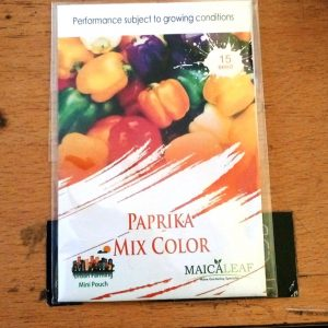 Paprika mix color maicaleaf 15s