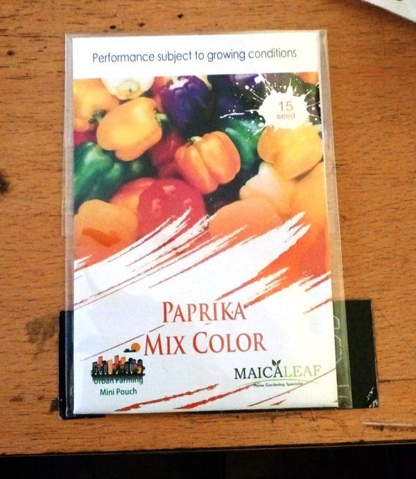 Paprika mix color maicaleaf 15s