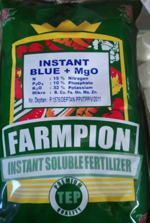 Pupuk Farmpion Instant Blue + MgO 500gr