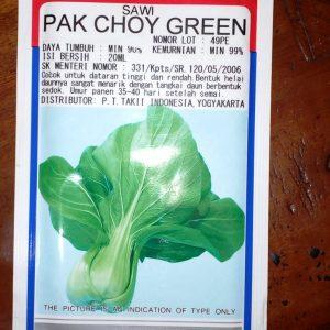Sawi Pak Choy Green