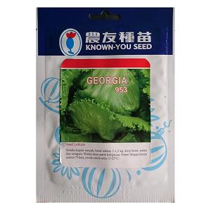 Benih Selada Krop Head Lettuce Georgia 5gr