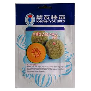 Benih Melon Orange Red Aroma 100 Biji